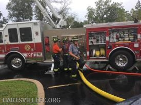 Members ensure proper connections on multiple hose-lines