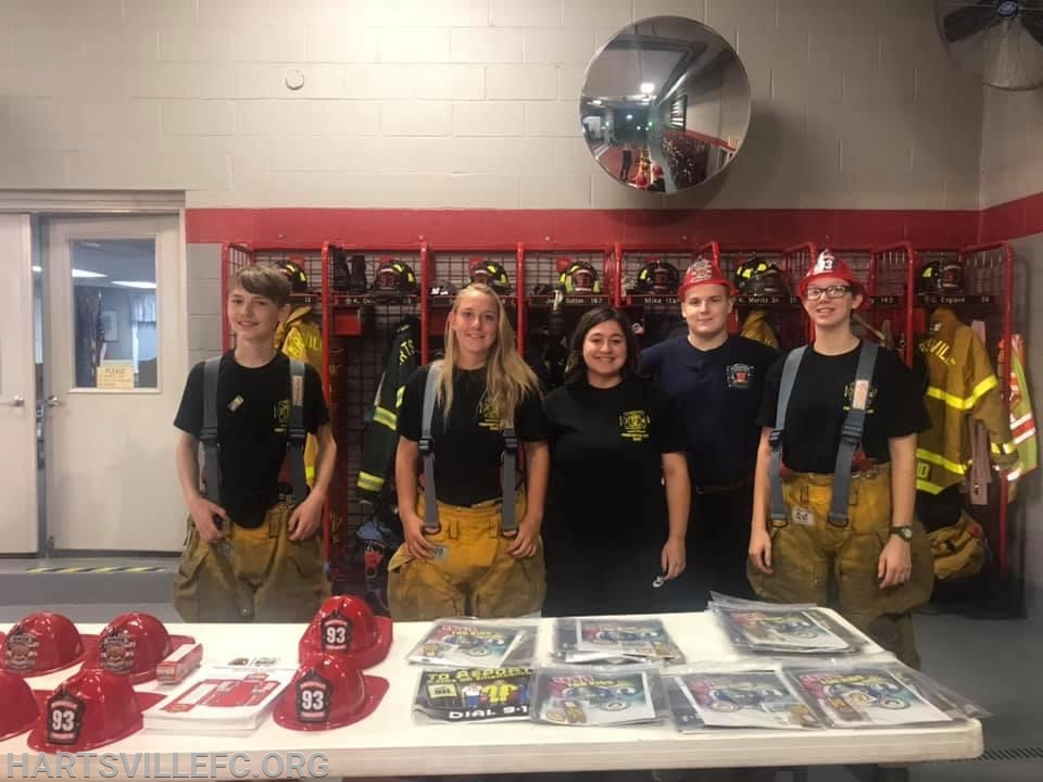 Our cadet Firefighters
